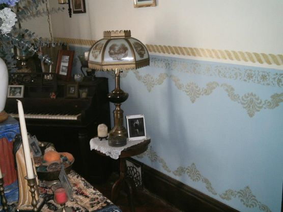 Victorian Living Room After