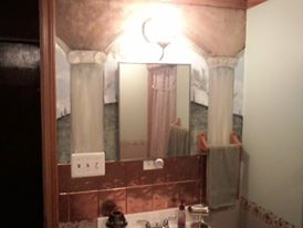 Redoing the Haunted House Bathroom Upstairs